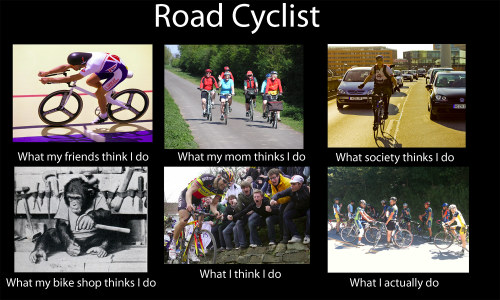 what people think road cyclist